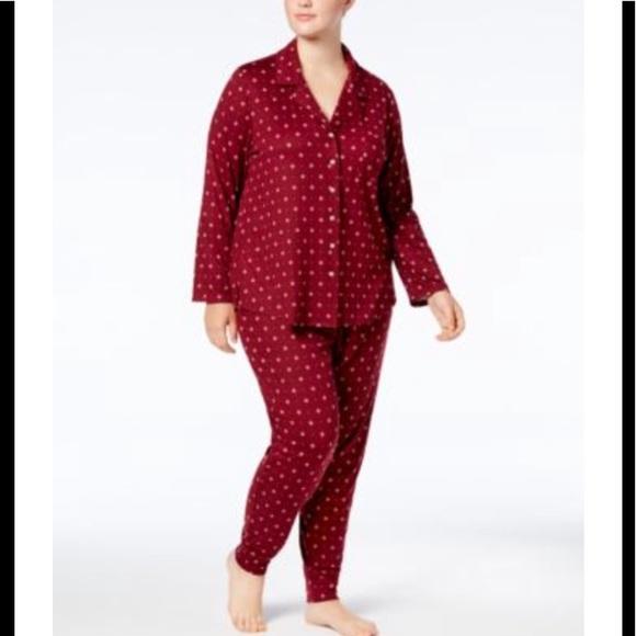 fd319249cb9e Alfani Intimates & Sleepwear | Intimates Plus Size Geo Dot Pj Set 3x ...